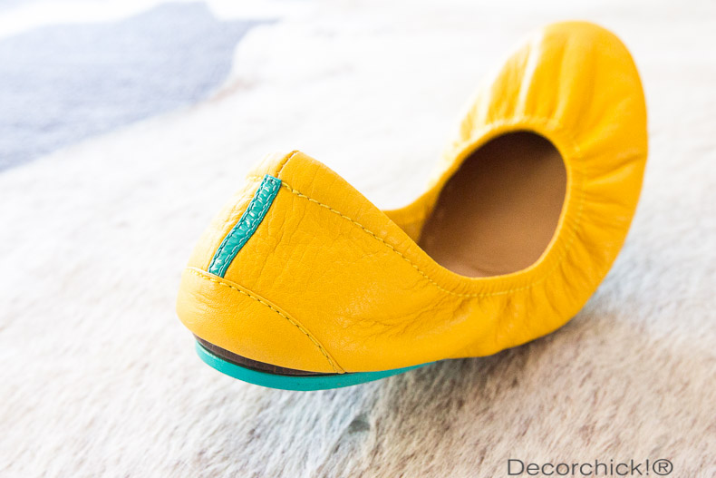 Mustard Yellow Tieks | Decorchick!®
