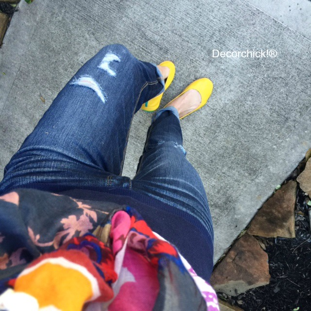 Tieks Mustard Yellow Flats | Decorchick!®