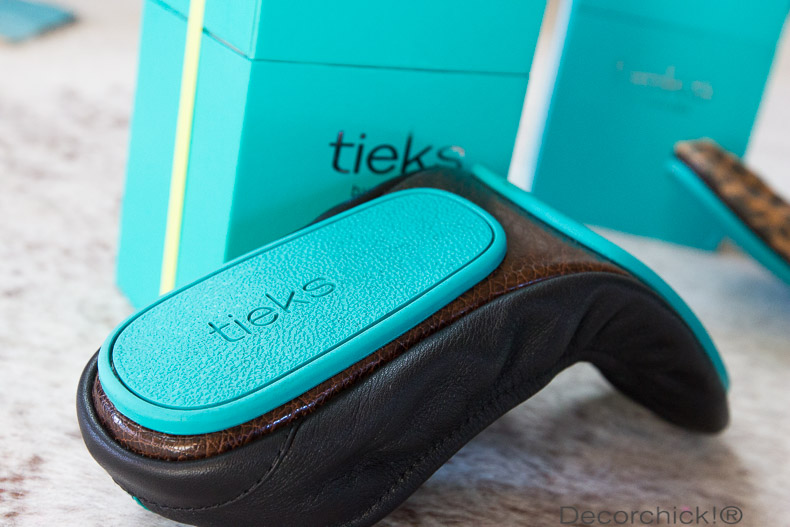 Tieks Blue Soles | Decorchick!®