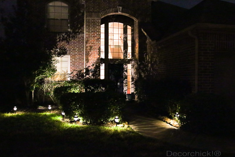 Solar Lights In Yard At Night | Decorchick!®