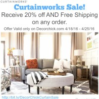 Curtainworks Sale, only at Decorchick.com | Decorchick!®