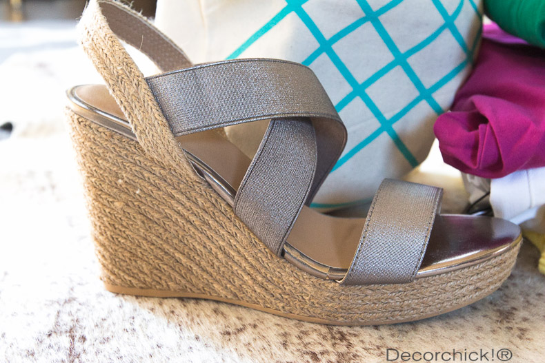 Yellow Box Link Espadrille Wedges | Decorchick!®
