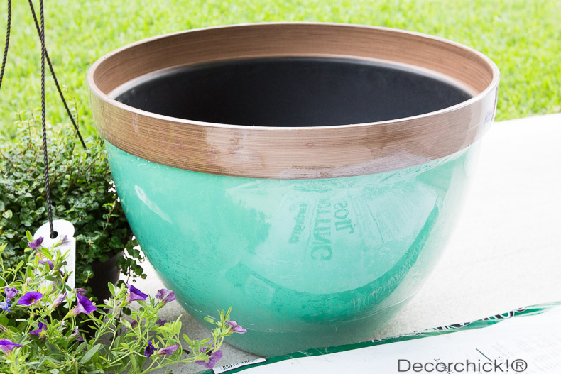 Planter from Walmart | Decorchick!®