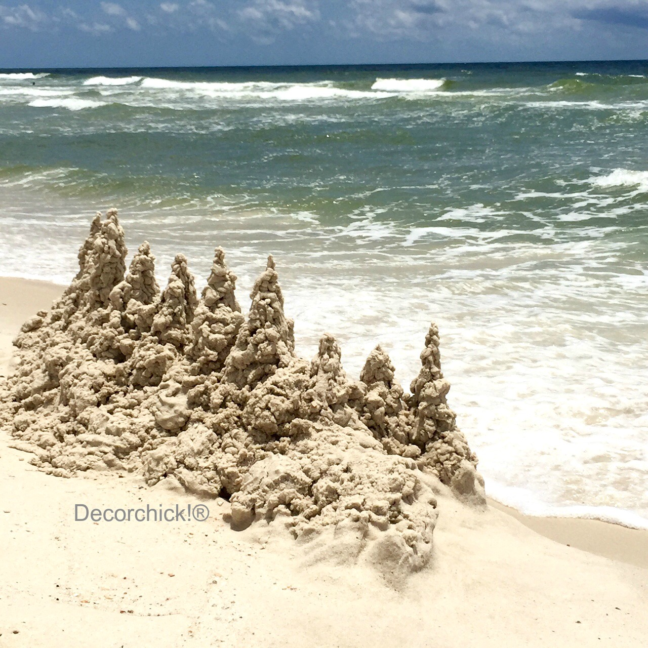 Cool Sandcastle | Decorchick!®