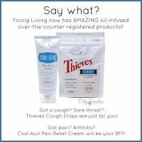 Thieves Cough Drops and Cool Azul Pain Cream | Decorchick!®