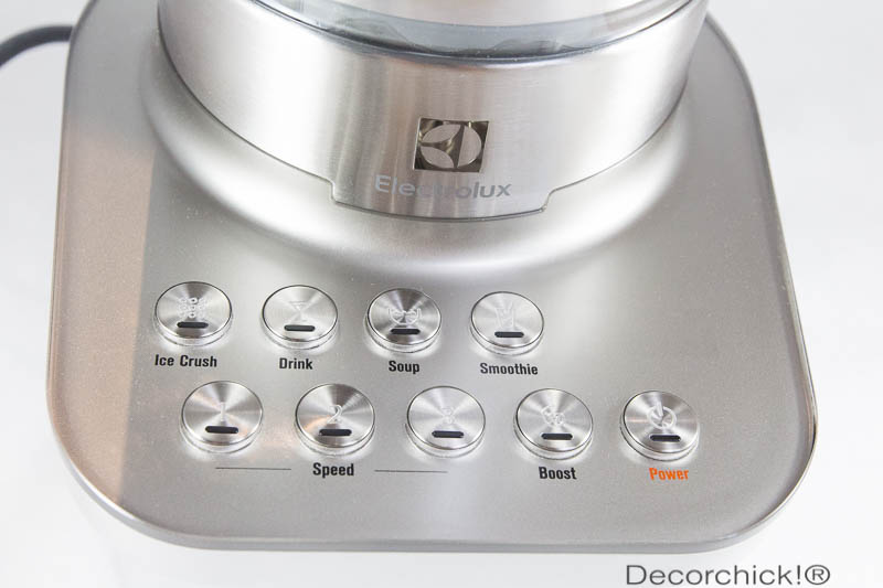 Electrolux Blender Buttons | Decorchick!®