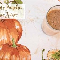 Chocolate Pumpkin Smoothie Recipe | Decorchick!®