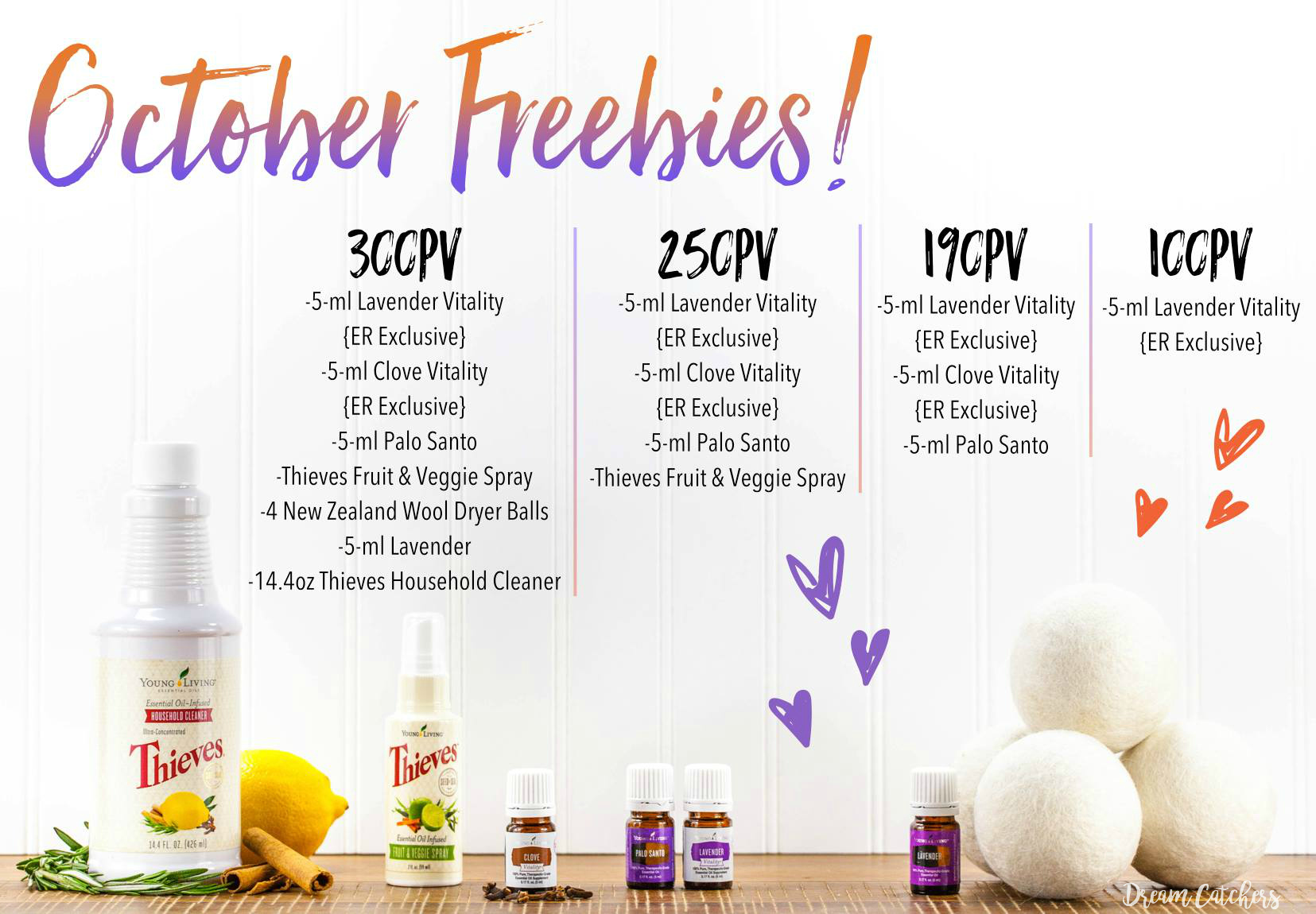 October Promotion from Young Living | Decorchick!®