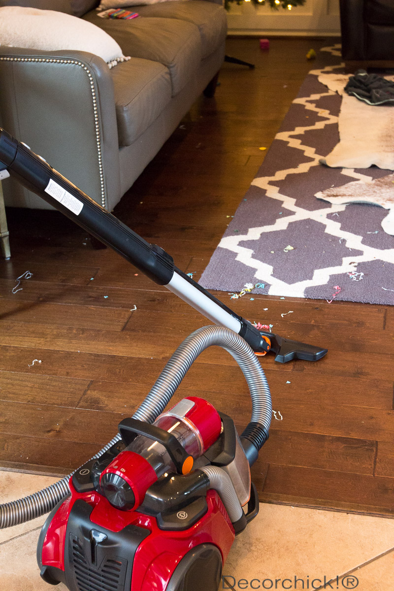 Electrolux Canister Vacuum Cleaning | Decorchick!®