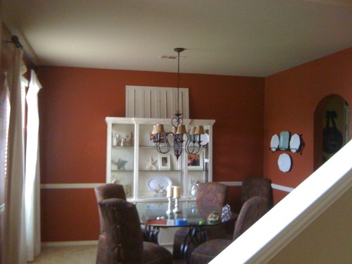 Crown Molding In Dining Room W Tutorial
