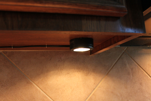 Another Easy Update Under Cabinet Lighting Decor