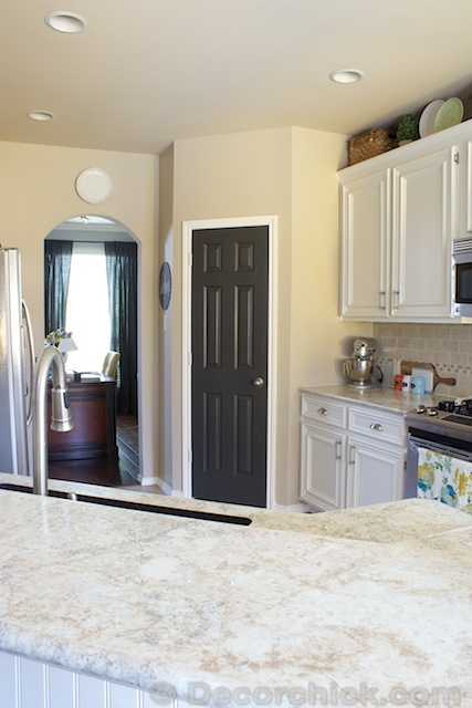The Painted Pantry Door Decor
