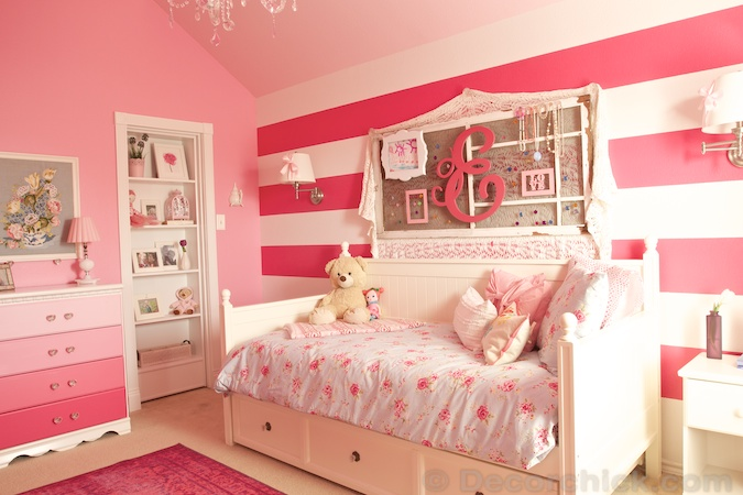 Little girl bedroom furniture white