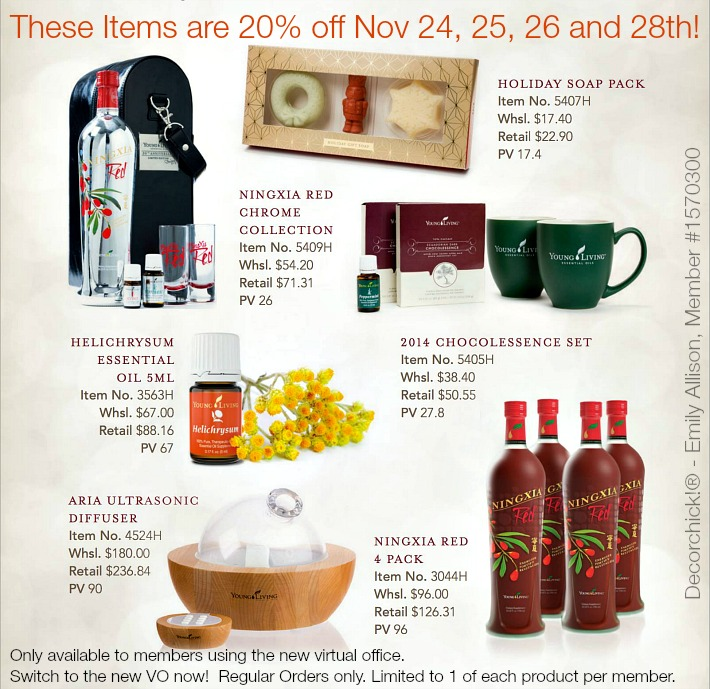 Best Black Friday Deals With Young Living!