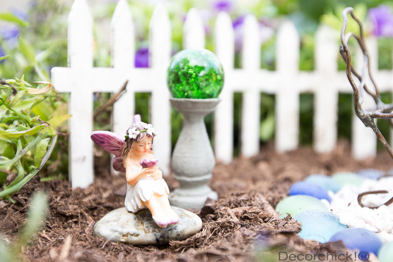 Diy fairy garden decorchick for How to make a fairy garden accessories
